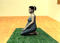Ray Pose ou Vajrasana (vídeo)