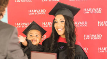 Briana Williams mãe solteira Harvard