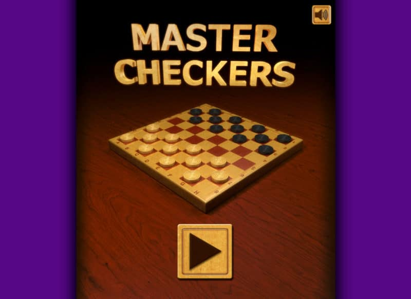 FRIV Master Checkers Game