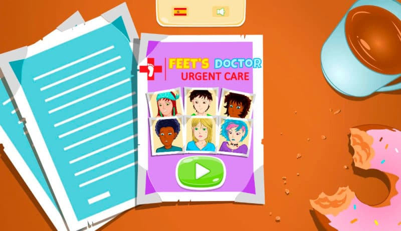 Game FRIV Feet's Doctor: Urgency Care