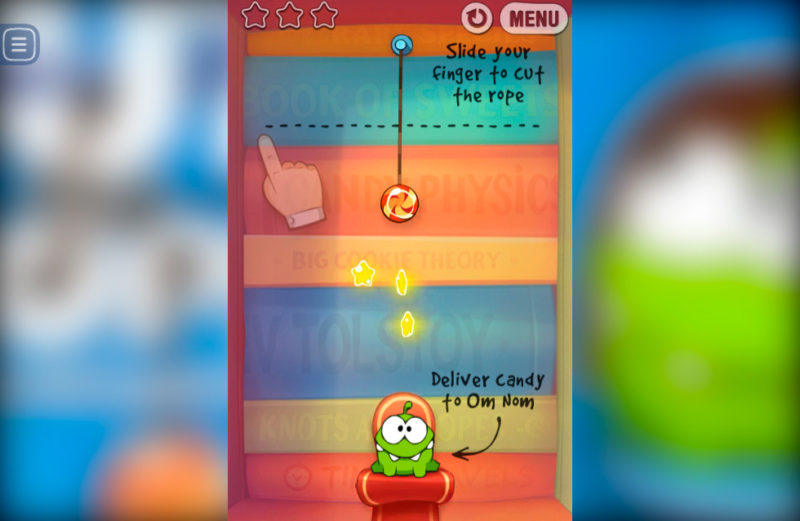 FRIV Cut the Rope Experiments